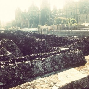 Templo Mayor ruins downtown Mexico City Read more ›