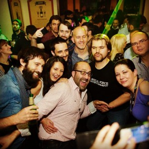 Fun times in Bucharest with fellow game industry and tech…
