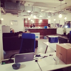 Packing up at Execution Labs. After 2 years on hip…