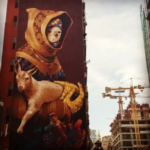 Wandering the streets of Beirut Anazing street art! Read morehellip